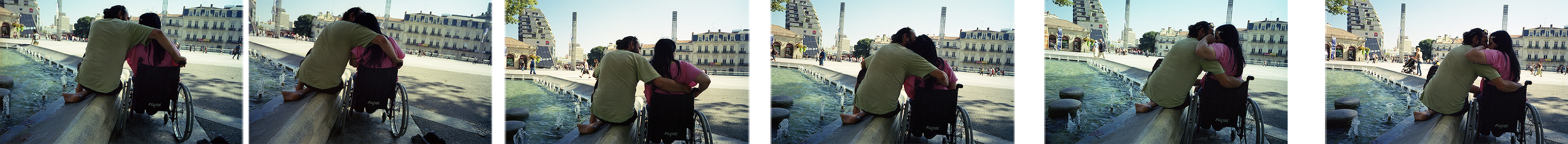 Montpellier, France. 2009Dimensioni: 195x18cm